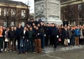 SGP-jongeren Goeree-Overflakkee op excursie in Den Haag