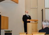 Rabbijn Jacobs spreekt bij SGP