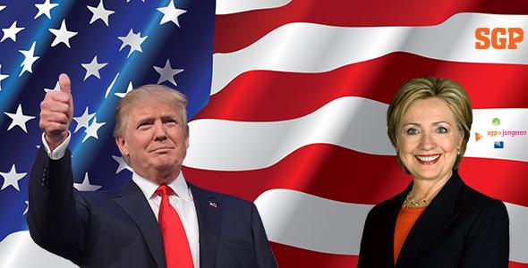 Wie komt in het Witte Huis – Clinton of Trump?