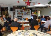 Gemeentebestuur op werkbezoek bij Stellegors en Streekmuseum